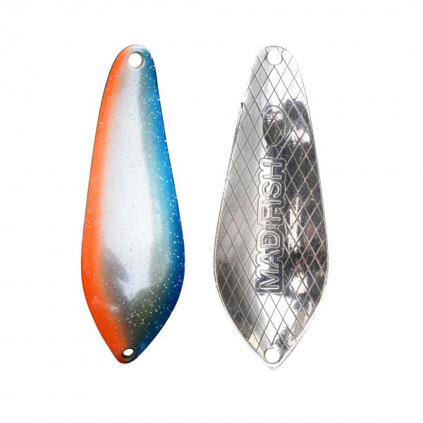 Блесна Mad Fish Atom  7gr, 54mm, покрытие Серебро (07002)